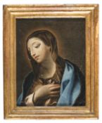 OIL PAINTING OF THE VIRGIN BY ROMAN PAINTER 18TH CENTURY