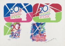 LITHOGRAPH 20TH CENTURY FOX BY ENRICO MANERA