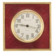 TABLE ALARM CLOCK HAUSSMAN & CO. 1950s