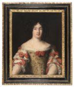 OIL PORTRAIT OF MARIA VIRGINIA BORGHESE ATTRIBUTED TO FERDINAND VOET (1639-1689)