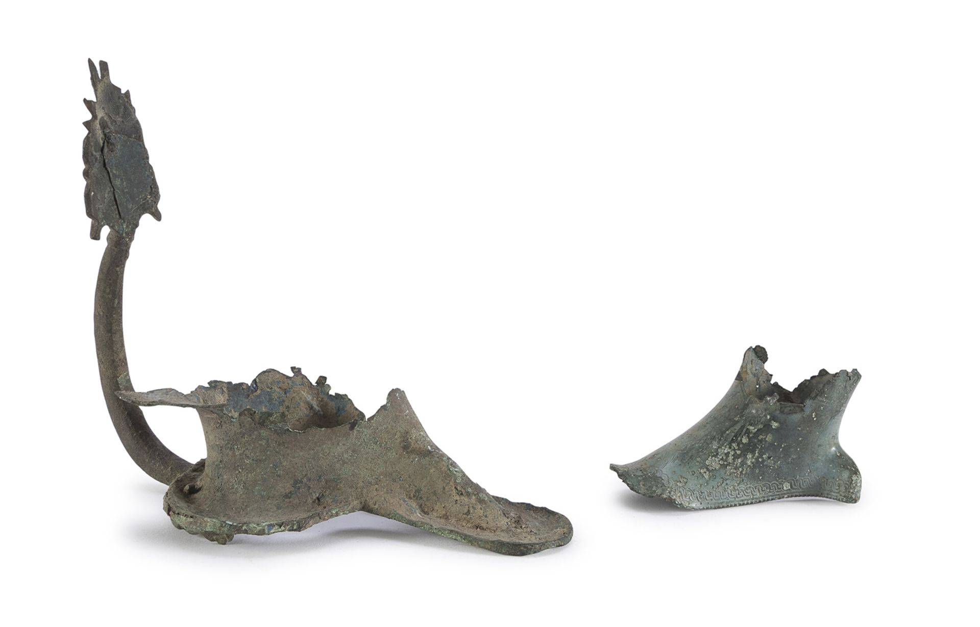 BRONZE HANDLE 4th-1st CENTURY BC
