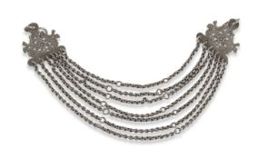SOUTH AMERICAN ART SILVER NECKLACE
