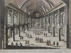 FRENCH ENGRAVING OF VERSAILLES 18TH CENTURY