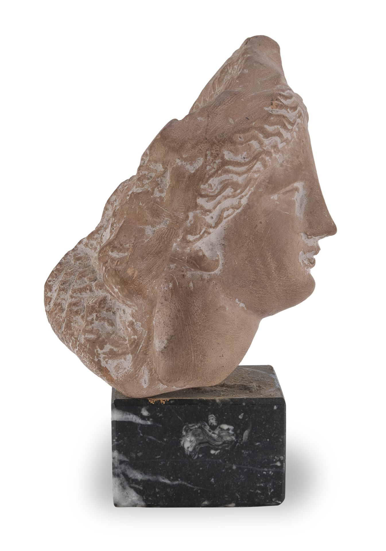 SMALL HEAD ETRUSCAN STYLE 20th CENTURY - Image 2 of 2