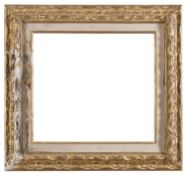 REMAINS OF FRAME IN GILTWOOD LATE 19TH CENTURY