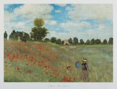 REPRODUCTION OF A WORK BY MONET