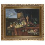 ACADEMIC OIL PAINTING OF A STILL LIFE 20TH CENTURY