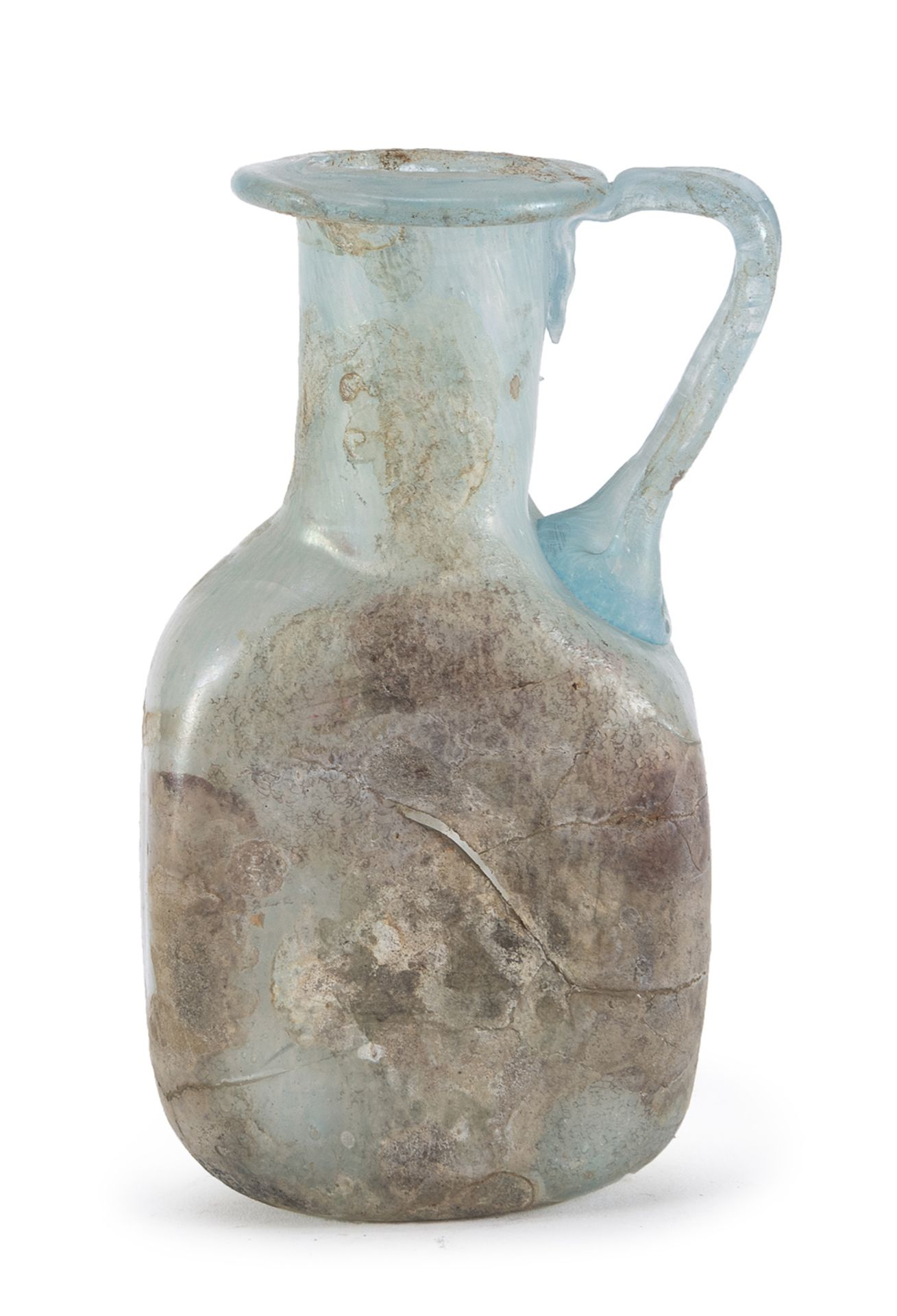 GLASS FLASK 1st-3rd CENTURY BC