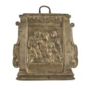BRONZE BAS-RELIEF ROME 16th CENTURY
