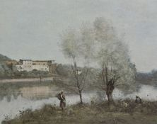 REPRODUCTION OF A WORK BY COROT