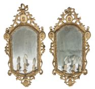 PAIR OF MIRRORS PROBABLY NAPLES 18TH CENTURY