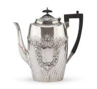 SILVER COFFEE POT DIXON & SON 1892