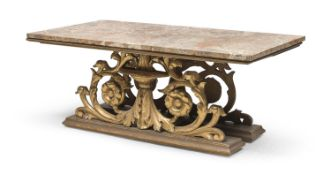 BEAUTIFUL COFFEE TABLE WITH AFRICAN MARBLE TOP