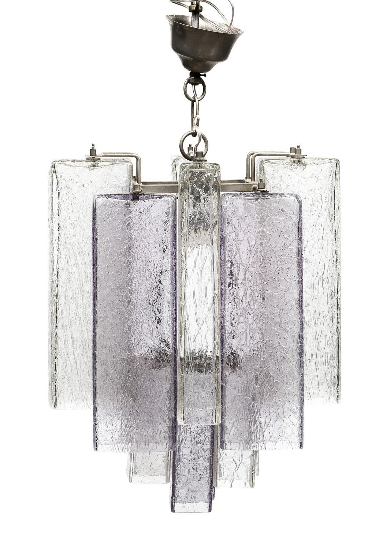 GLASS CHANDELIER BAROVIER 1950s