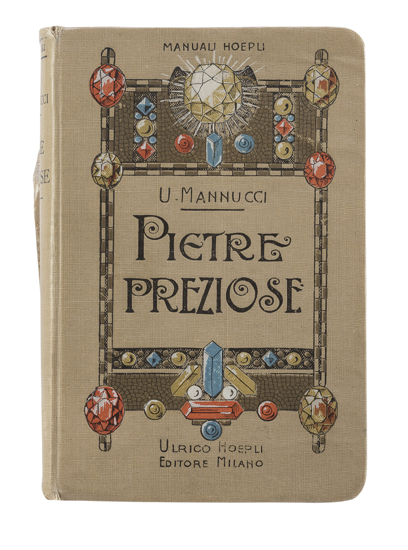 MANUAL OF PRECIOUS STONES BY U. MANNUCCI 1911