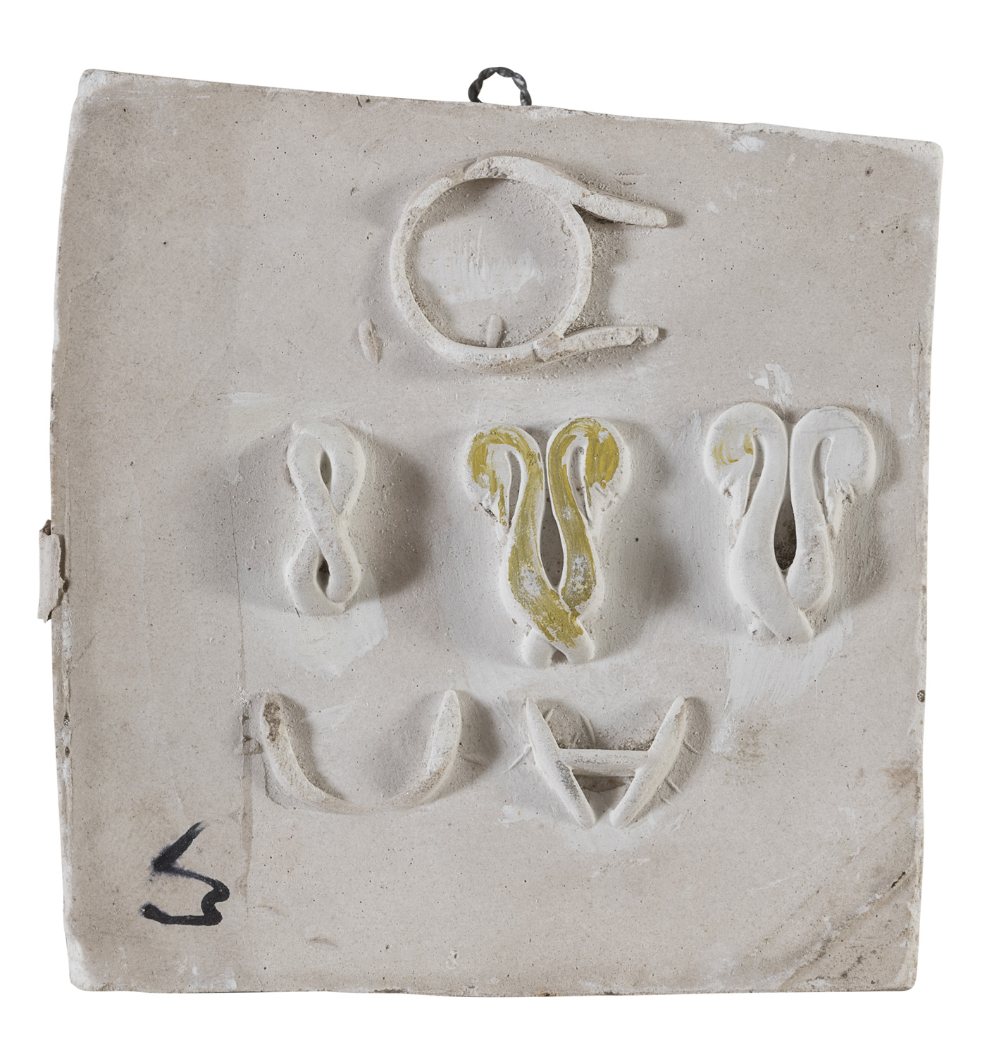 TWO MOLDS BY GIULIO ZANCOLLA 1940's - Image 2 of 2