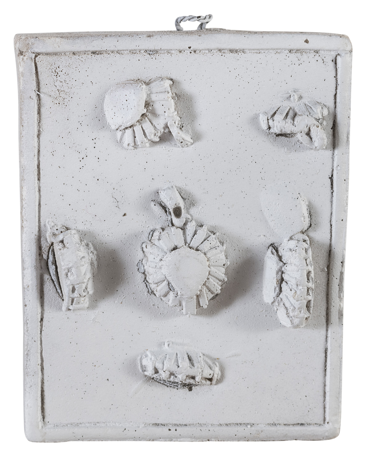 TWO MOLDS BY GIULIO ZANCOLLA - Image 2 of 2
