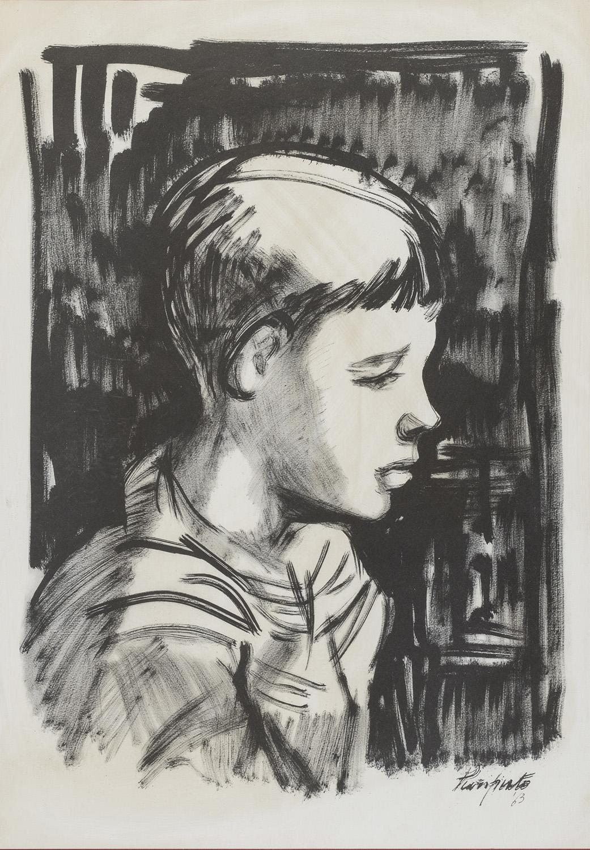 PRINT BY DOMENICO PURIFICATO 1963