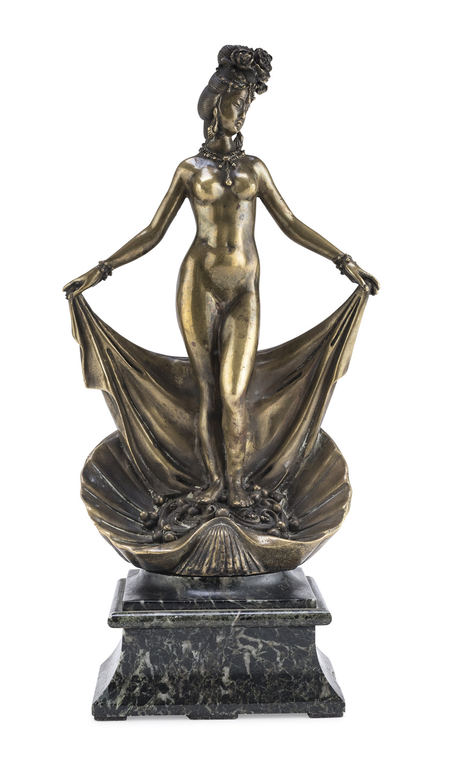 GILDED BRONZE SCULPTURE EARLY 20TH CENTURY