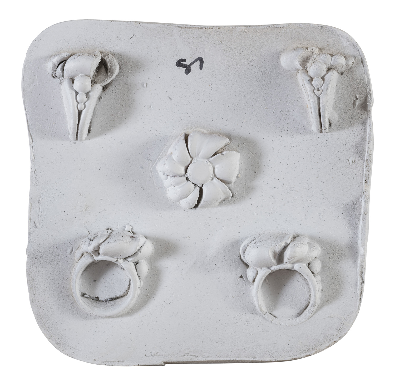 TWO MOLDS BY CESARE ZANCOLLA 1940's