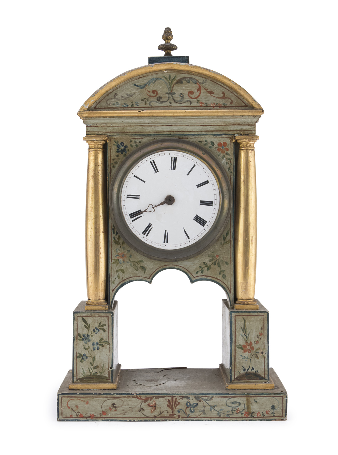 TABLE CLOCK CASE PROBABLY MARCHE EARLY 19th CENTURY