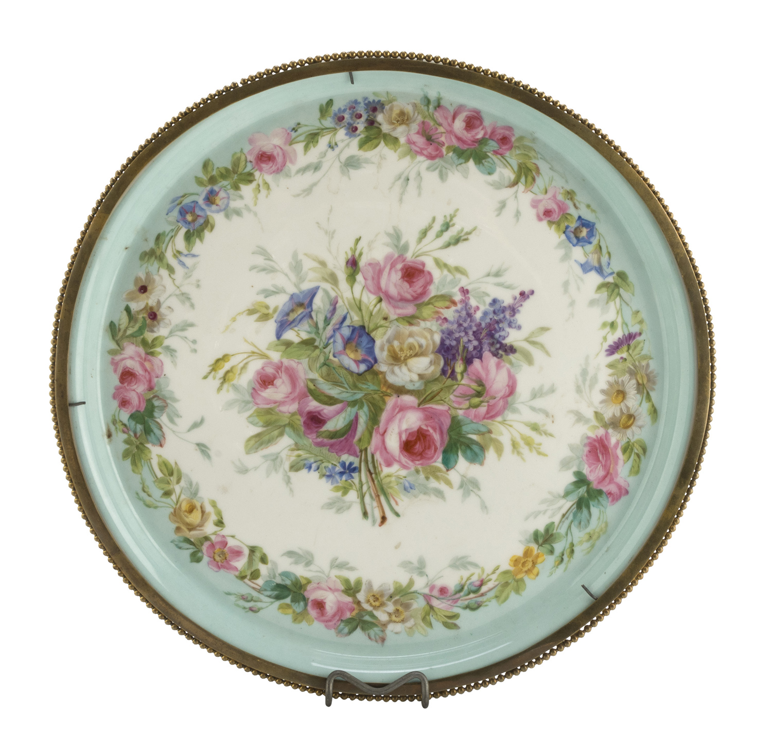 PORCELAIN TRAY LATE 19th CENTURY