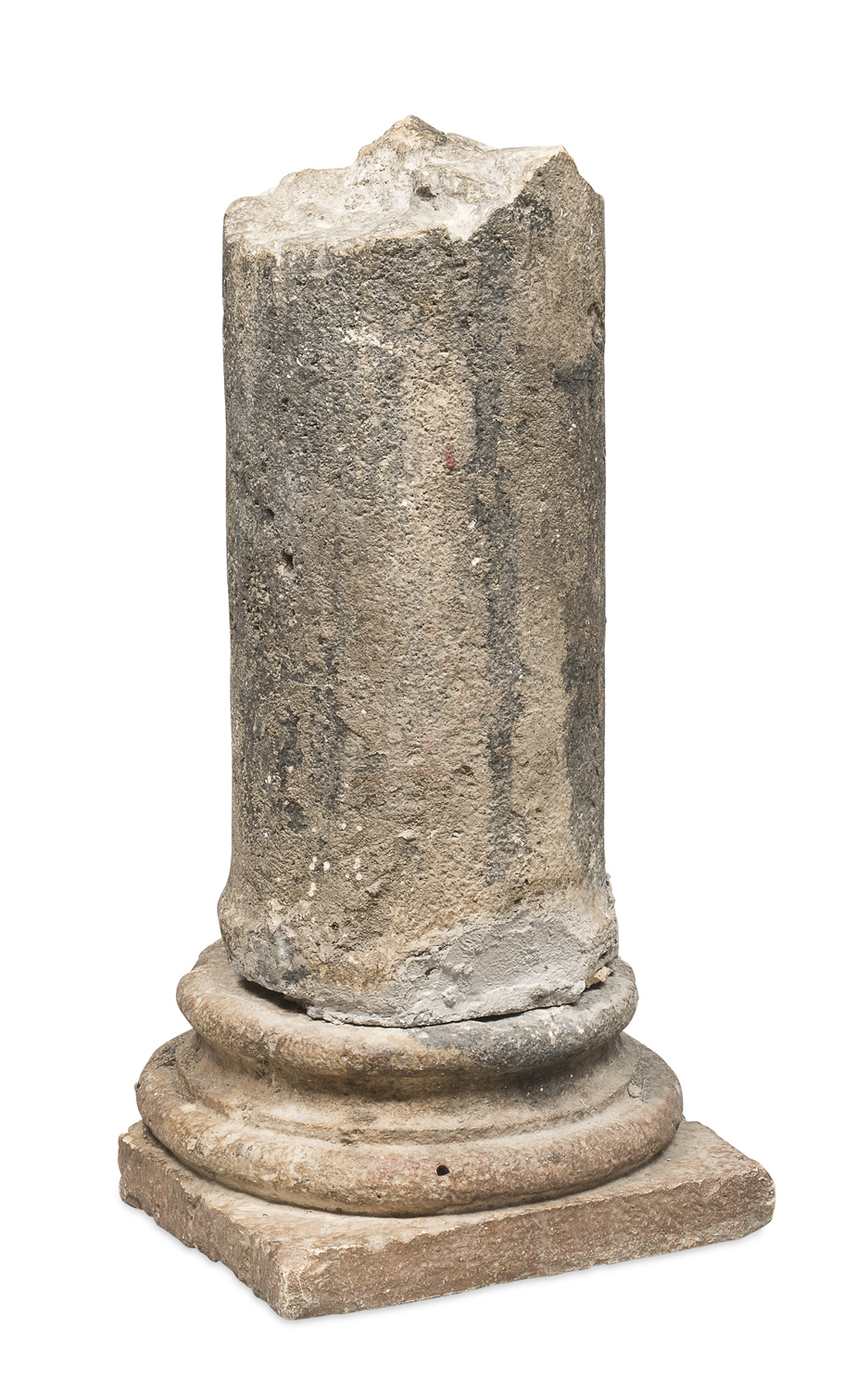 FRAGMENT OF A MARBLE COLUMN 16TH CENTURY