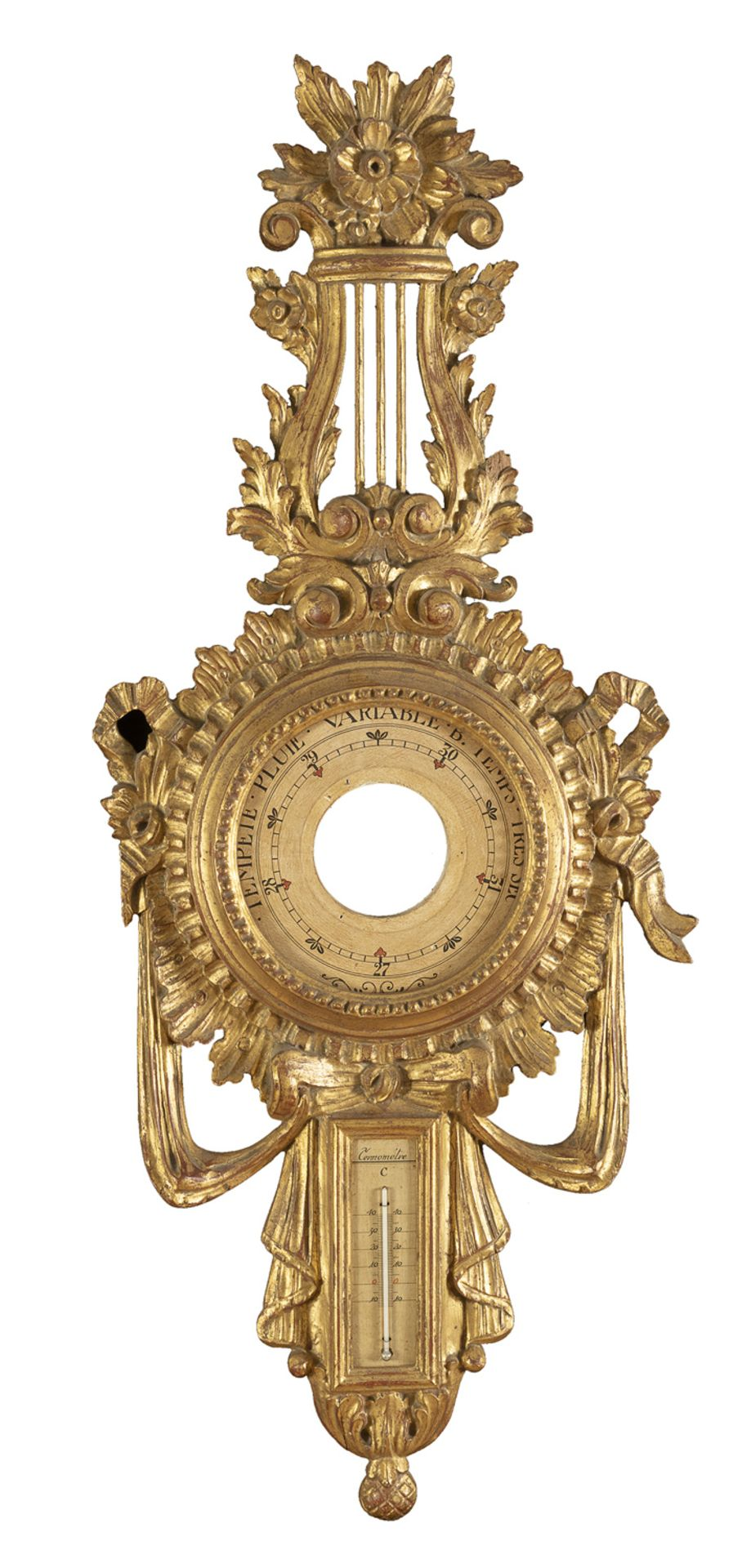 BAROMETER SUPPORT EARLY 20TH CENTURY