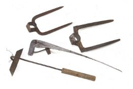 LOT OF FARMER TOOLS EARLY 20TH CENTURY