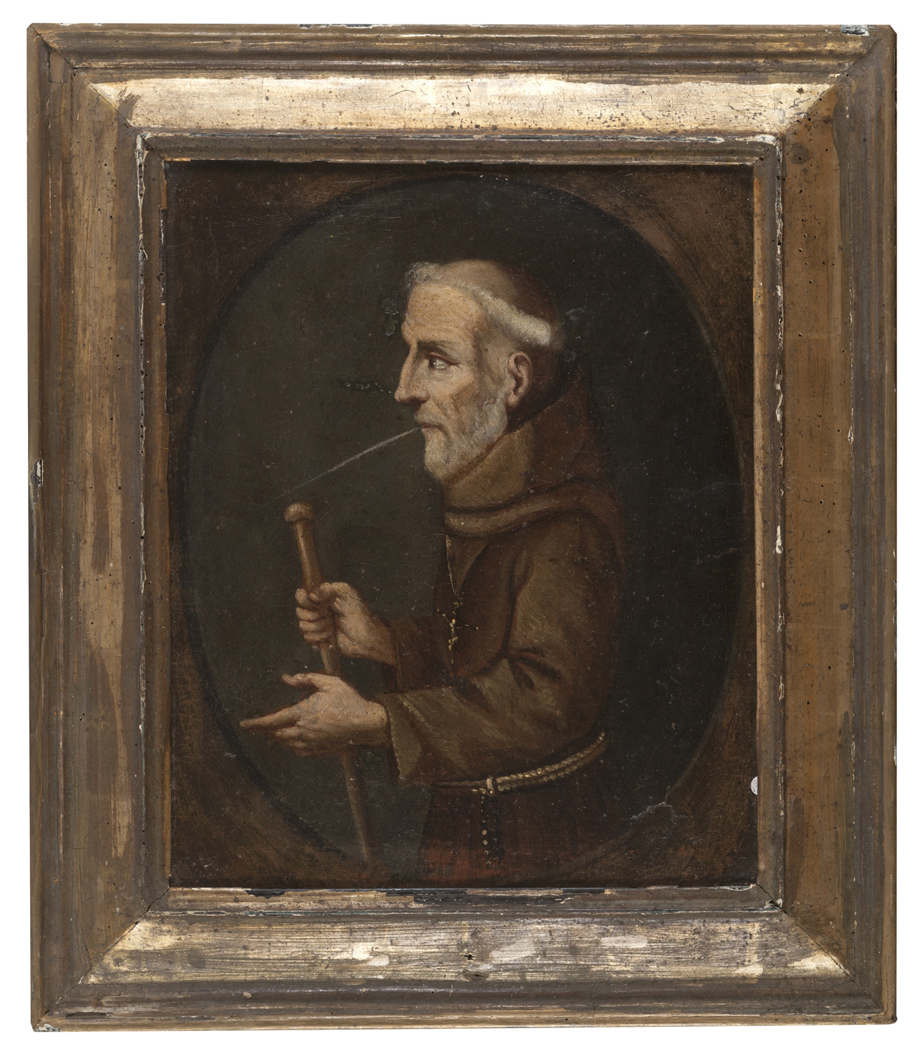 LOMBARD OIL PAINTING 18th CENTURY