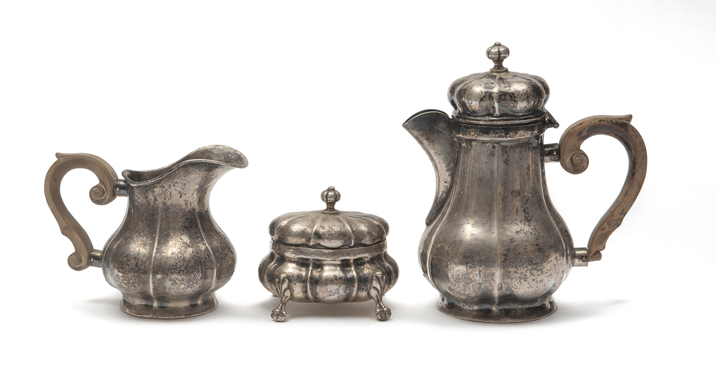 SILVER COFFEE SET VENICE 18th CENTURY