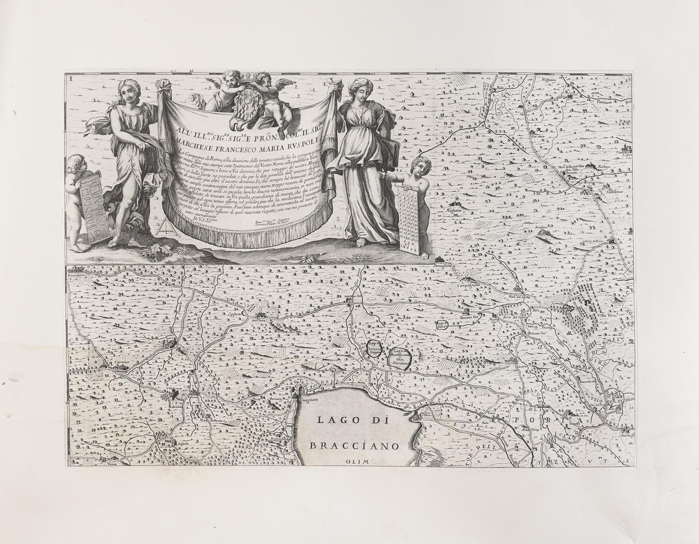 SIX ROMAN ETCHINGS 19TH CENTURY - Image 6 of 6