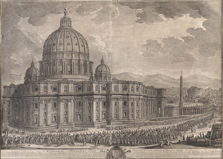 ROMAN ETCHING 18th CENTURY
