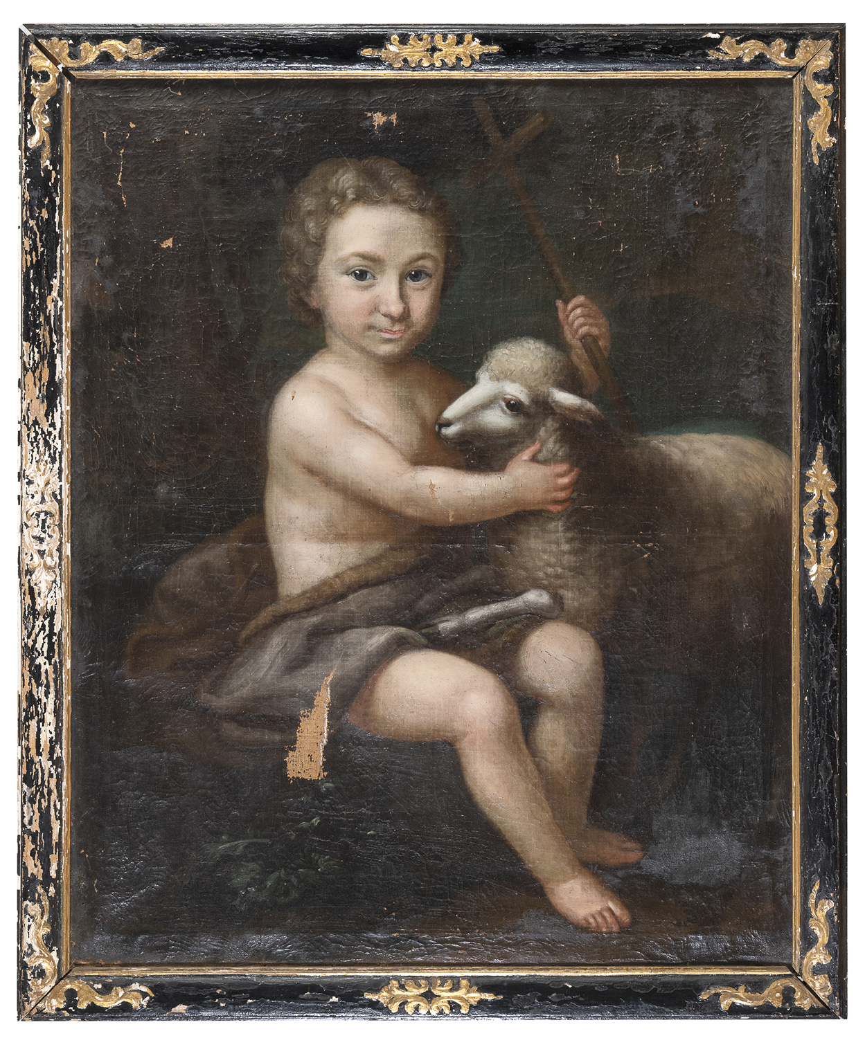 FRENCH OIL PAINTING EARLY 19TH CENTURY