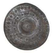 RARE IRON SHIELD PROBABLY SELJUCHID EMPIRE PERSIA 12TH CENTURY