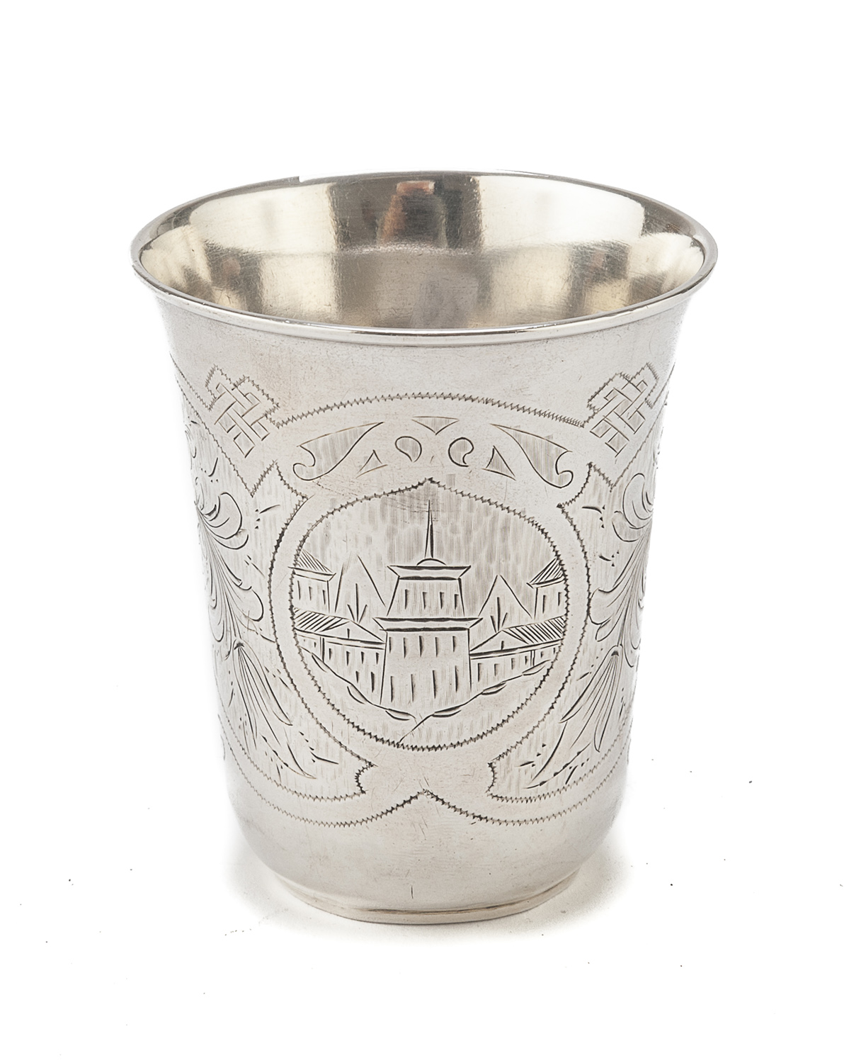 SILVER BEAKER MOSCOW PUNCH 1881