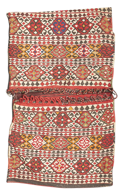 PERSIAN SIVAS KHOYN BAG EARLY 20TH CENTURY
