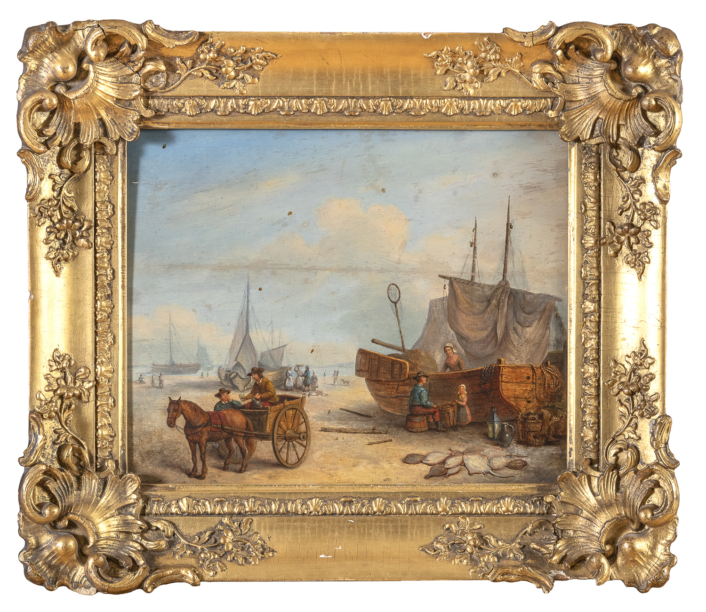 DUTCH OIL PAINTING 18th CENTURY