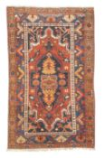VILLAGE CARPET NORTH OF PERSIA EARLY 20TH CENTURY