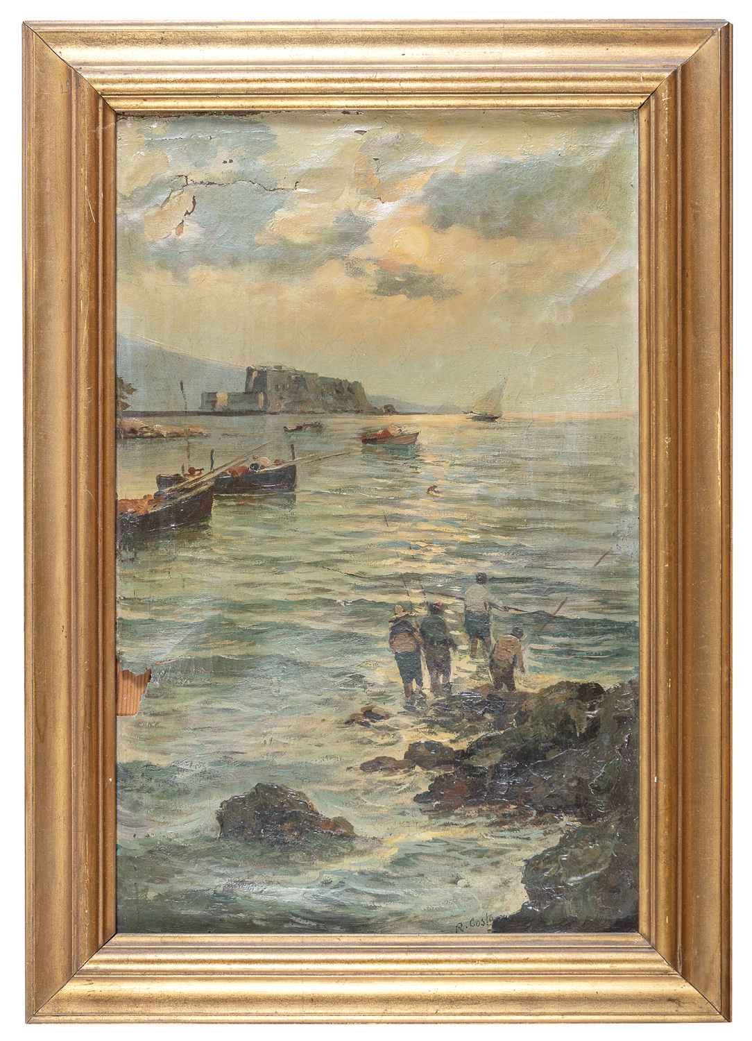 NEAPOLITAN OIL PAINTING EARLY 20TH CENTURY
