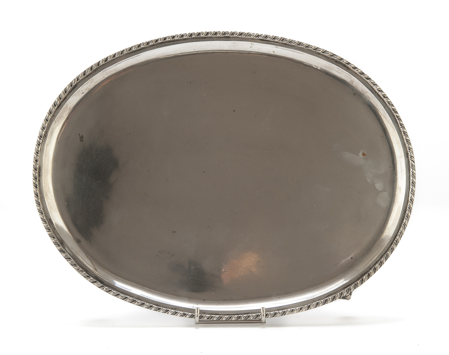 SILVER TRAY VICENZA LATE 19TH CENTURY