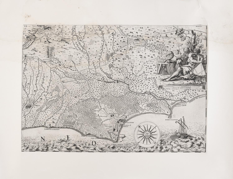 SIX ROMAN ETCHINGS 19TH CENTURY - Image 5 of 6