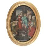 CENTRAL ITALIAN OIL PAINTING 18TH CENTURY