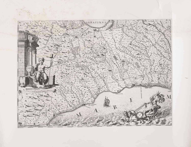 SIX ROMAN ETCHINGS 19TH CENTURY - Image 3 of 6