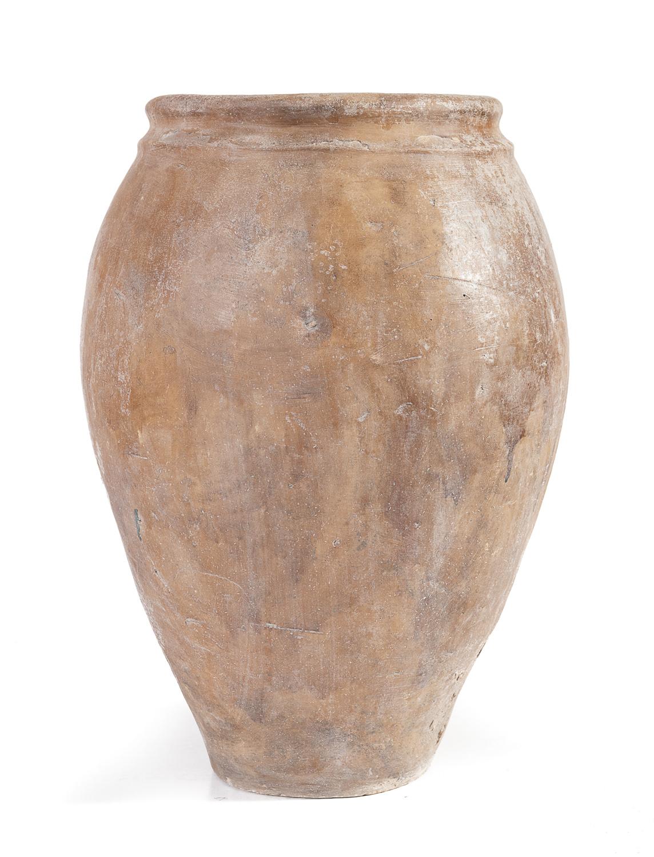 TERRACOTTA OIL JAR NAPLES 19th CENTURY