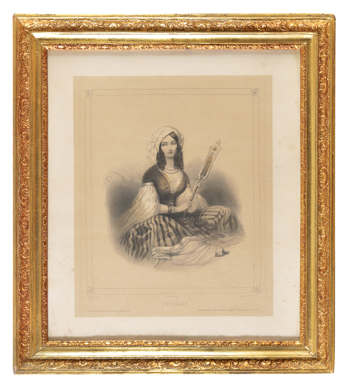 PAIR OF FRENCH ENGRAVINGS 20th CENTURY