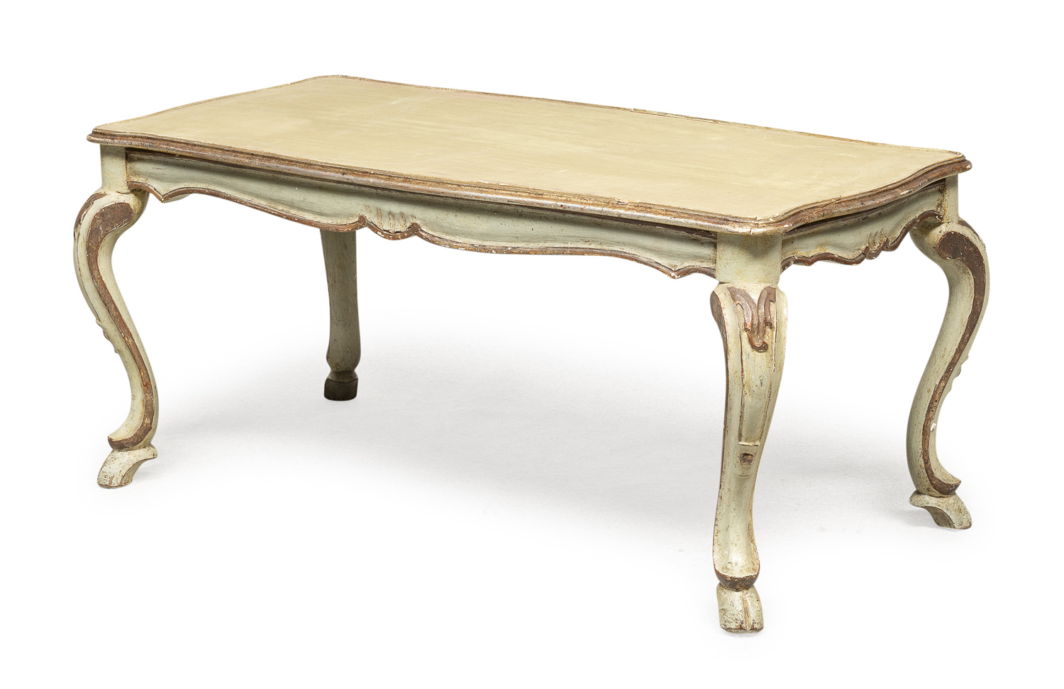 LACQUERED WOOD COFFEE TABLE 18th CENTURY ELEMENTS