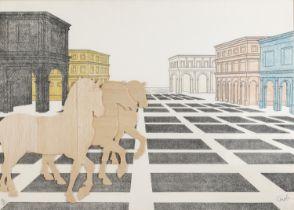LITHOGRAPH BY MARIO CEROLI