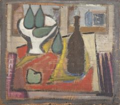OIL AND TEMPERA PAINTING BY ATANASIO SOLDATI EARLY 1930s