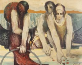 OIL PAINTING BY MANFRED DIETRICH 1985